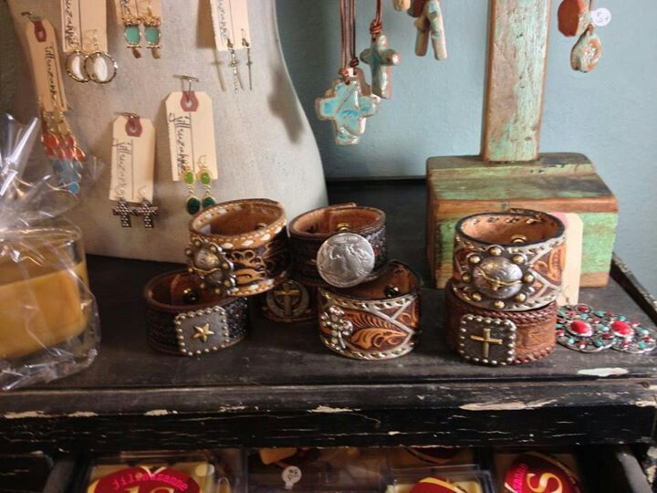 Bracelets made out of belts! :)