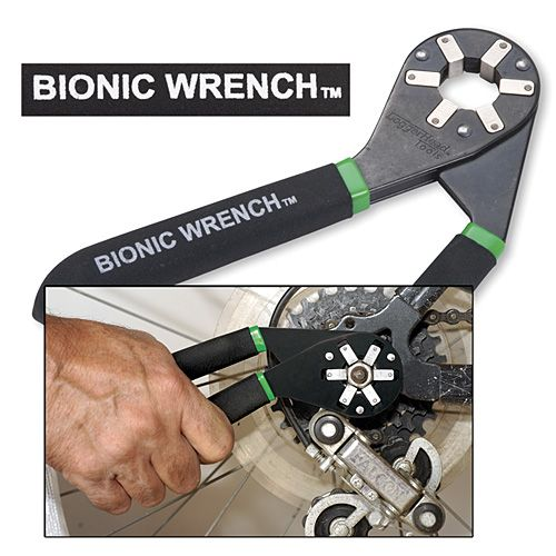Remove any bolt with the Bionic Wrench The pro-grade, patented Bionic Wrench™ uses six powerful, adjustable sliders built-in to the 360° head to help you firmly grip nuts on all six sides.