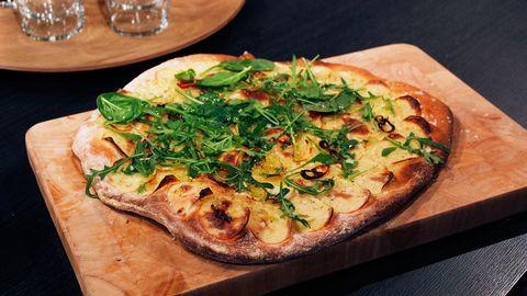 potatispizza utan ost