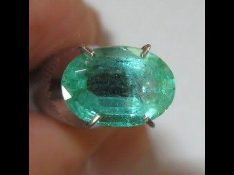 Batu Zamrud Kualitas Bagus 1.63 carat Luster Terang