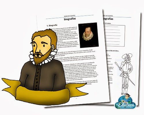 BIOGRAFÍAS | Miguel de Cervantes ~ La Eduteca