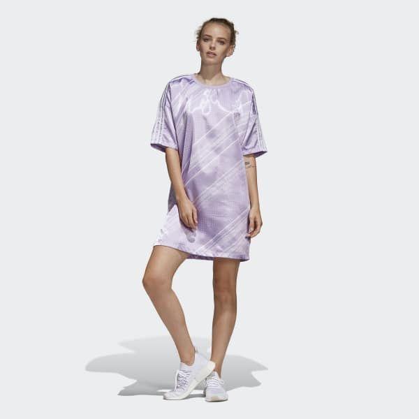 adidas Trefoil Dress - Purple   adidas
