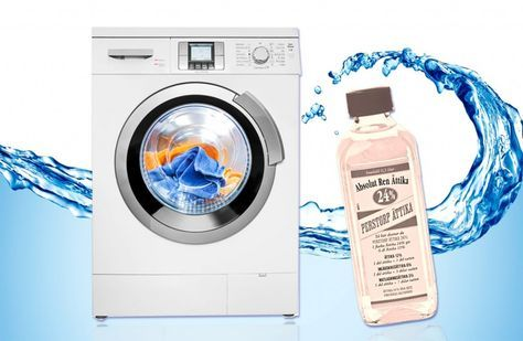 Ättika i tvättmaskinen – får bort dålig lukt och behåller färgerna på tvätten