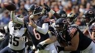 The Chicago Bears were on the rebound Sunday, (9/23/12) as they took on the St. Louis Rams on a cool, sunny afernoon at Soldier Field. The Bears won over the Rams 23-6.    The Chicago Bears played more like a Pro team today, with the magic word being 'Team'.
