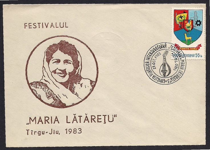 """Maria Lataretu(1911-1972), Romanian singer, she is well known singer only in Romania. In 1911 she was named the """"Queen"""" of Traditional Romanian Country Music."""