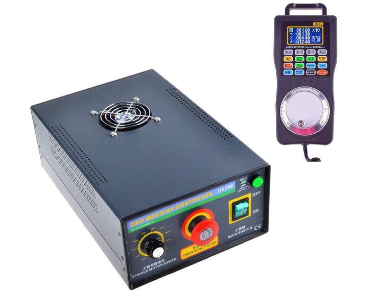 JY5300-2 CNC MACHINE Drive Controller Box With Handwheel pendant mpg MACH3   eBay