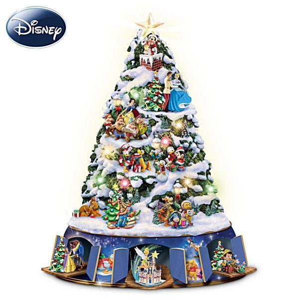 The Ultimate Disney 50-Character Tabletop Christmas Tree   Disney ...