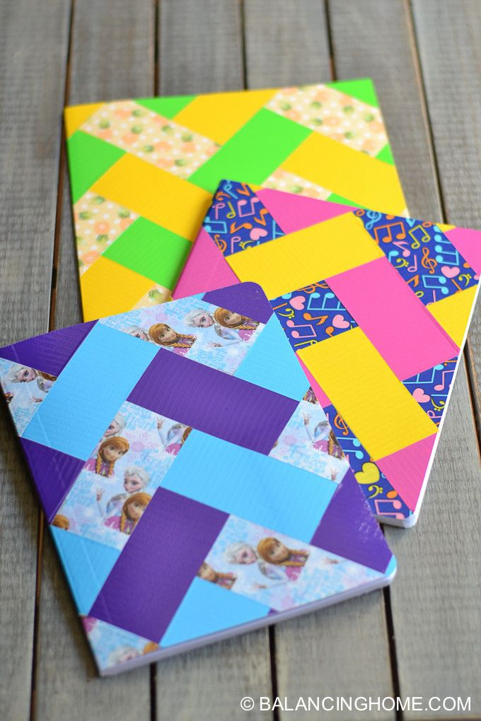 135 best school duct tape crafts images on pinterest craft folders and notebooks wearing out try this quick fix solutioingenieria Images