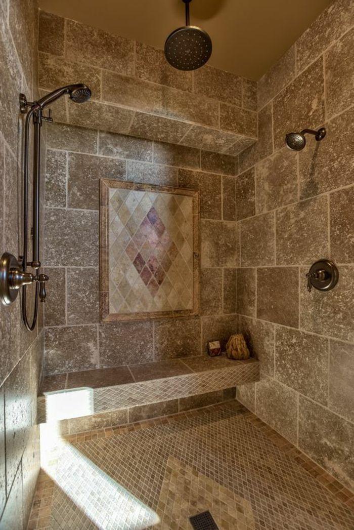 ▷ 1001 + idées déco pour la salle de bain travertin | Architectural ...