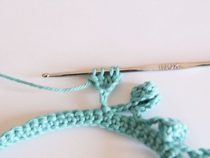 Tutoriel DIY: Réaliser du galon pompon au crochet via DaWanda.com                                                                                                                                                                                 Plus