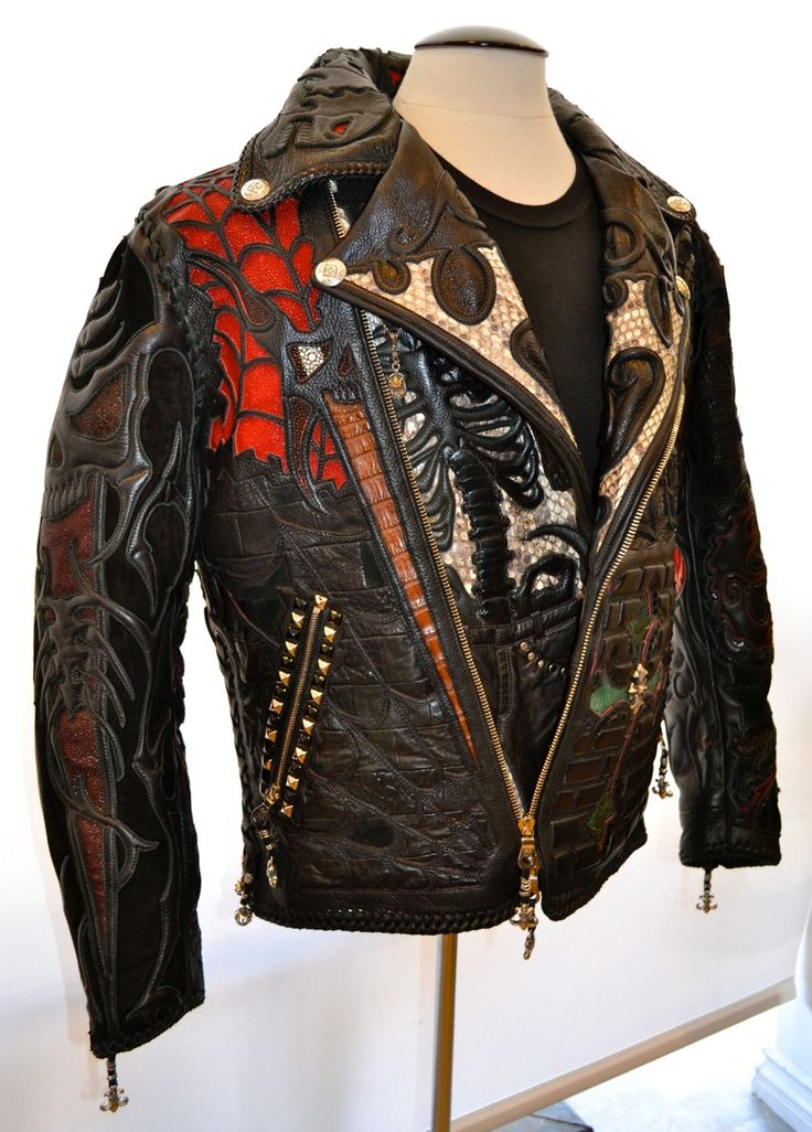 Just another leather jacket By Logan Riese