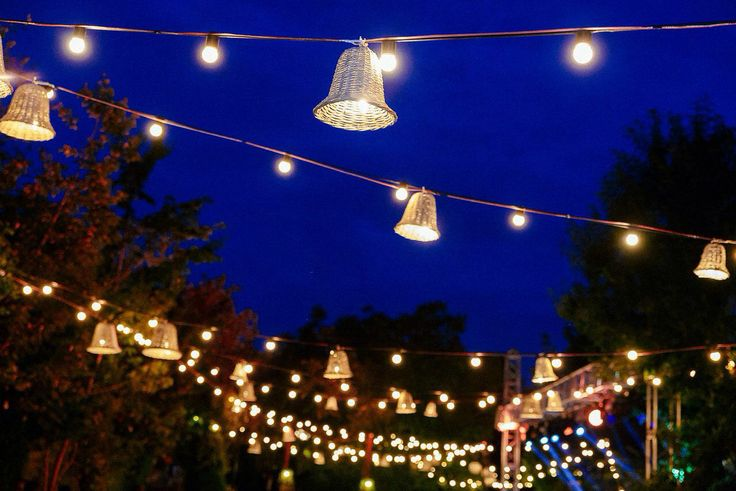 Outdoor wedding light,lamp,forest