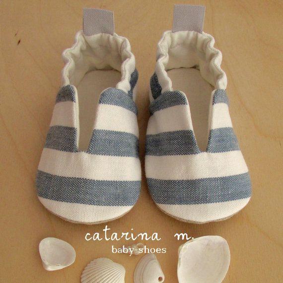 PATRÓN zapato de bebé * modelo n.4 * Catarina M. (Inglés-cm + pulgadas) pdf