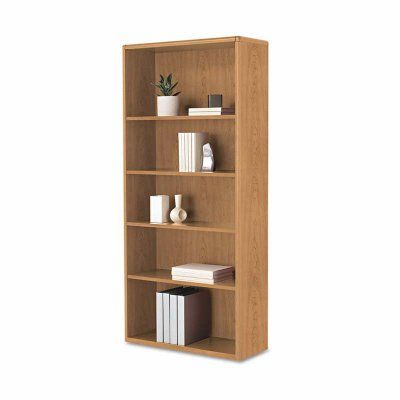 HON 10700 Series 5 Shelf Bookcase With Adjustable Shelves   HON107569NN