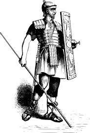 Resultado de imagem para black and white soldados romanos