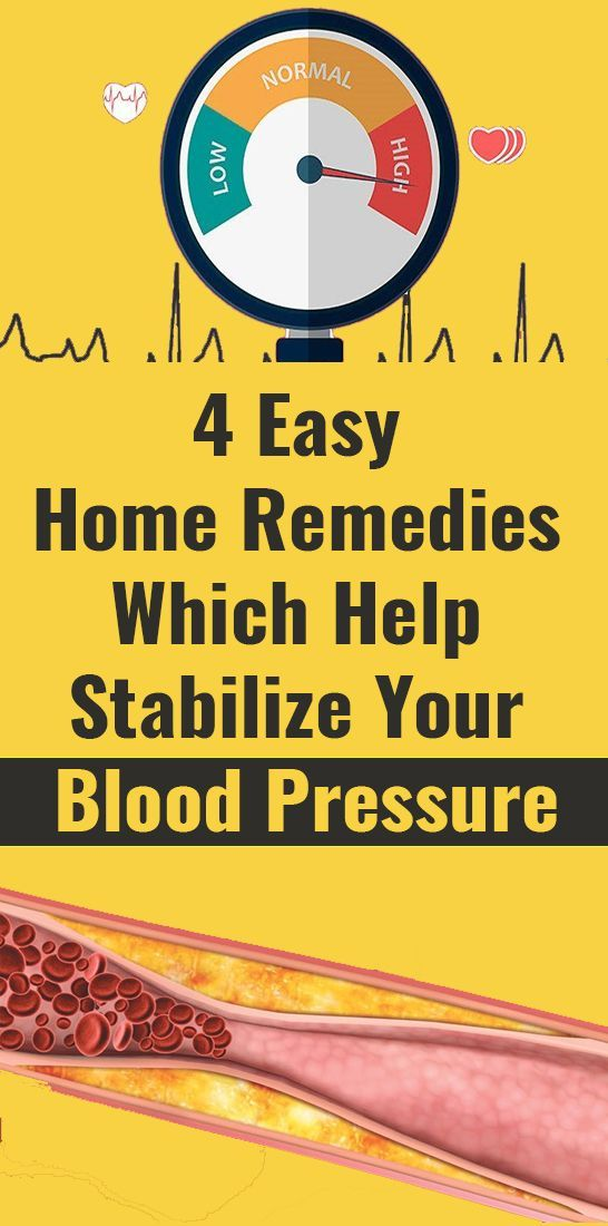 Easy Home Remedies Which Help Stabilize Your Blood…
