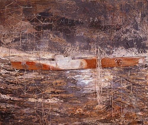 Anslem Kiefer Merkabi 2006