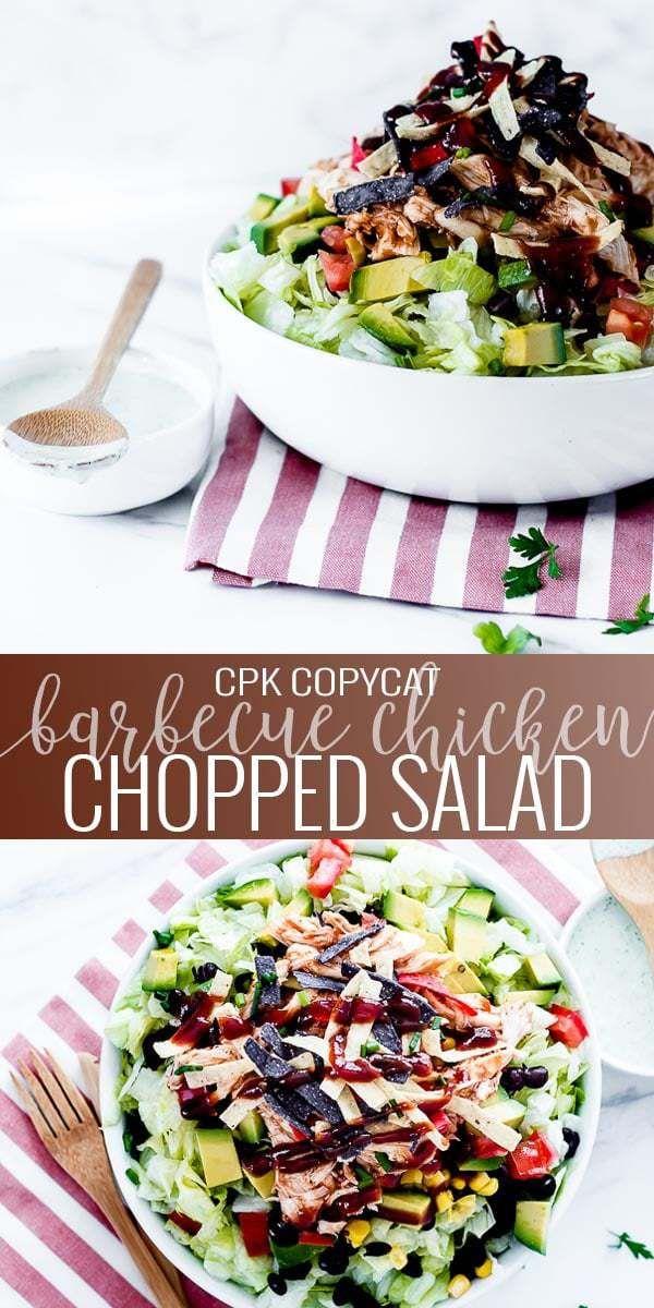 BBQ Chicken Chopped Salad   – Salad