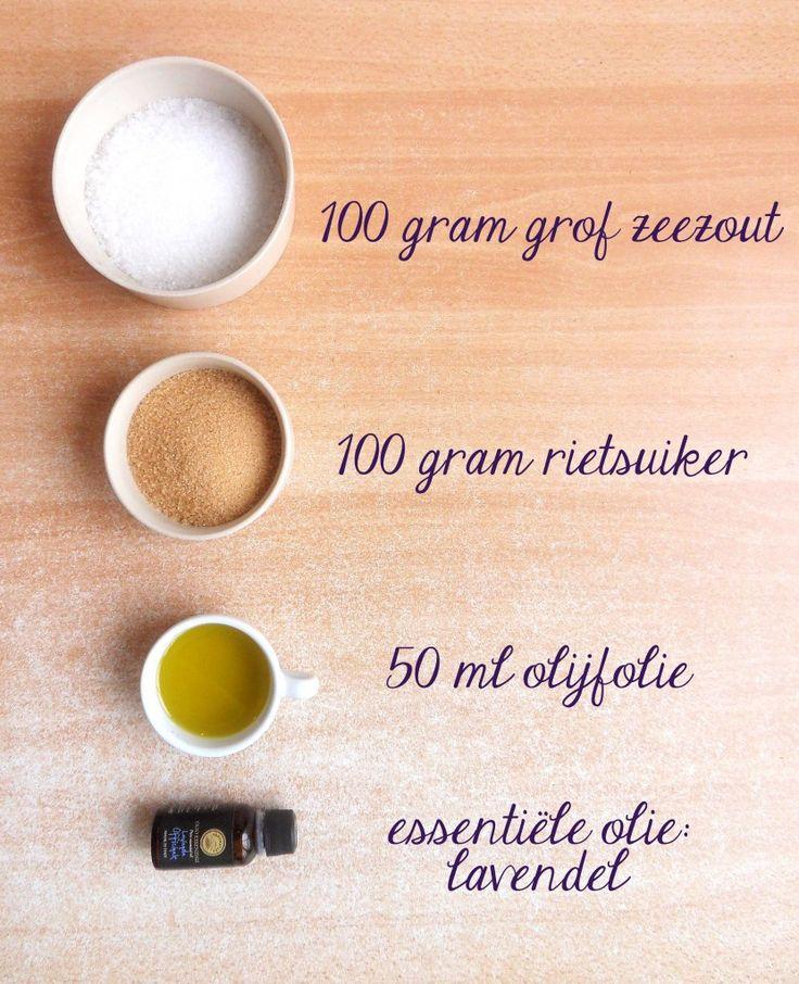 Homemade scrub | lavender / lavendel | sugar & salt | BB style