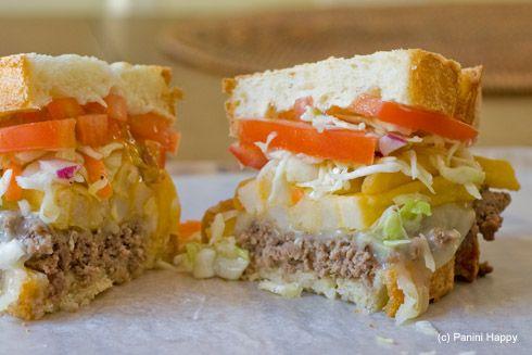Pittsburgh-Style Cheese Steak Panini