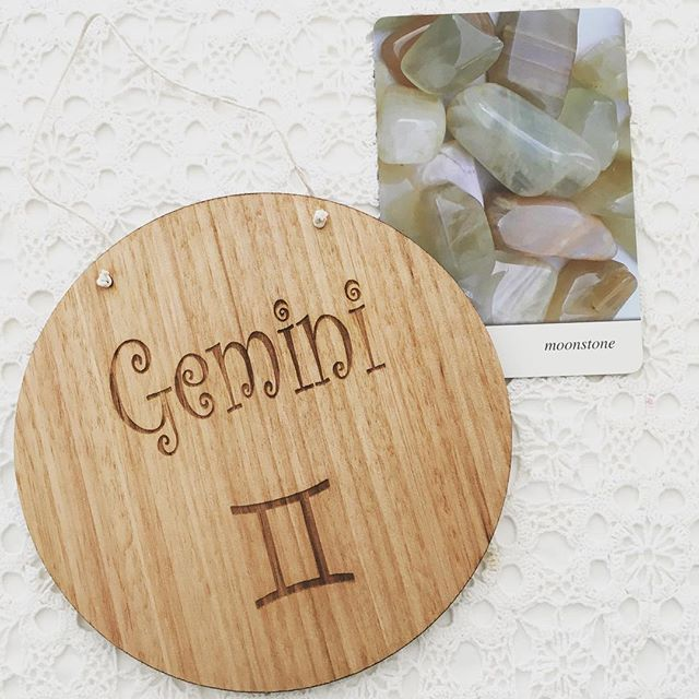 Custom timber signs, laser etched and unique designs! Perfect for birthday, baby shower, birth gifts! Starsign engraved timber sign. Gemini's are impulsive and unique, this sign celebrates all that beautiful Gemini's are!