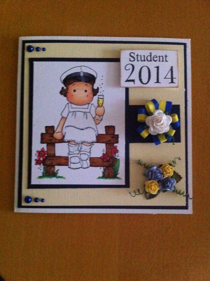 Studentkort. Magnolia stamp