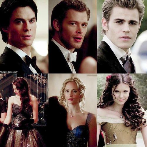 the vampire diaries, The Originals, and delena image