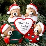 Xmas Bear Family