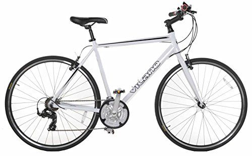 Road Bikes - Vilano Performance 700C21 Speed Shimano Hybrid Flat Bar Commuter Road Bike *** Click on the image for additional details.