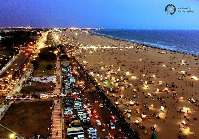 Marina Beach,Chennai