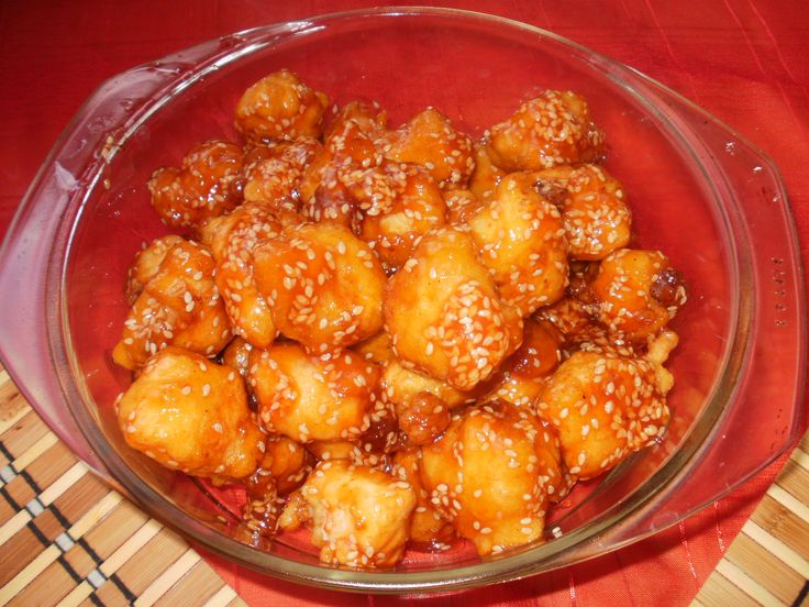 Kínai szezámmagos csirke recept - halasihir