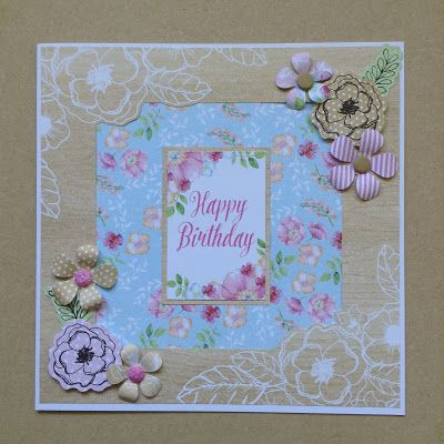 Boutique Floral Collection, Craftwork Cards