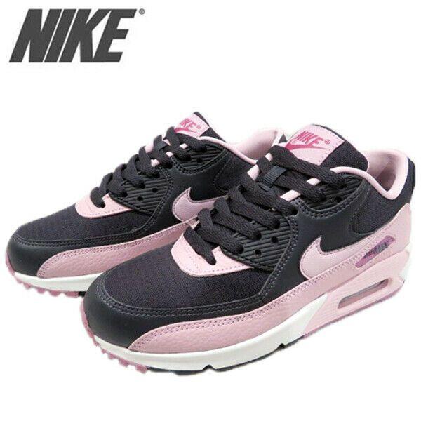 Nike Wmns Air Max 90 Plum Chalk Pink Grey Women Running