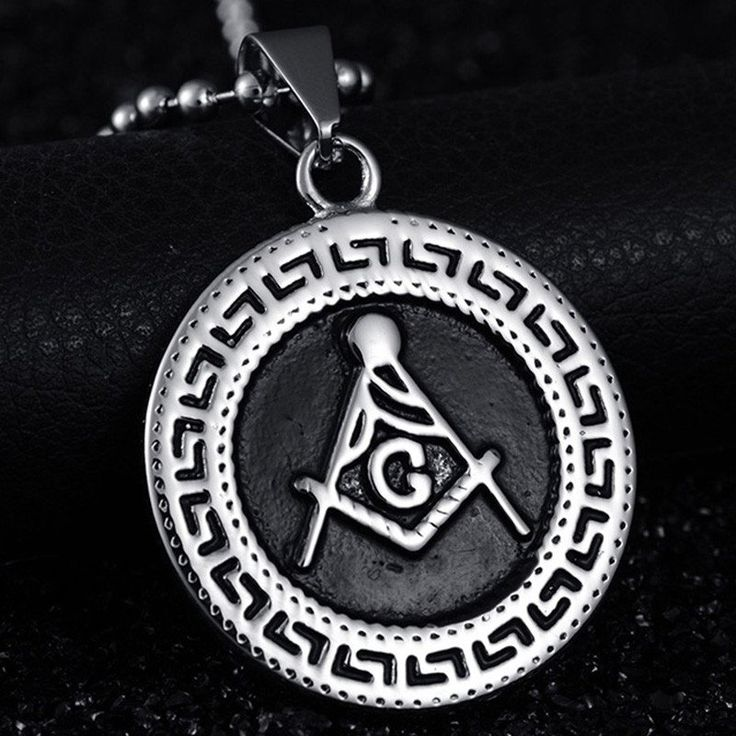 The 16 best pendants collection masonicfindore images on new 2017 retro gothic masonic necklace with stainless steel round masonic necklace aloadofball Gallery
