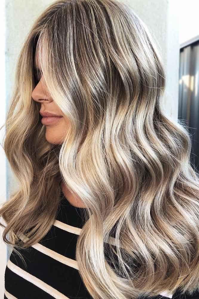 Hair Color 2017 2018 Multidimensional Dirty Blonde Hair Blondehair