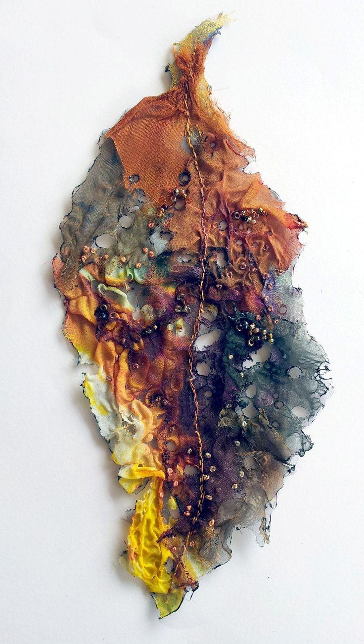 organza leaf by Ailie Snow