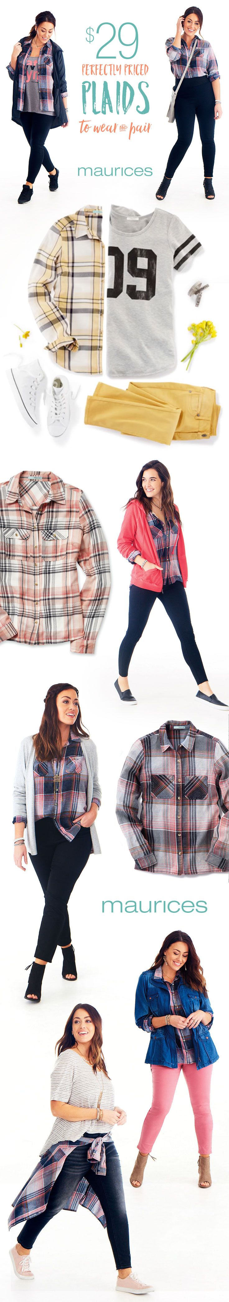 Get playful with endless ways to wear & pair plaids starting at $29. Plus, say hello to FREE shipping when you pick up in store or on orders $50 or more.