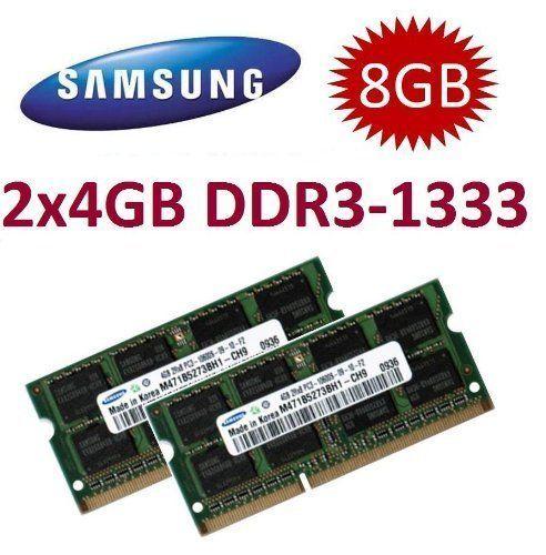 Sale Preis: 8GB Dual Channel Kit 2x 4 GB SAMSUNG Original 204 pin DDR3-1333 PC3-10600 CL9 SO-DIMM für aktuelle DDR3 i5 + i7 Notebooks mit DDR3-1333Mhz Unterstützung. Gutscheine & Coole Geschenke für Frauen, Männer und Freunde. Kaufen bei http://coolegeschenkideen.de/8gb-dual-channel-kit-2x-4-gb-samsung-original-204-pin-ddr3-1333-pc3-10600-cl9-so-dimm-fuer-aktuelle-ddr3-i5-i7-notebooks-mit-ddr3-1333mhz-unterstuetzung
