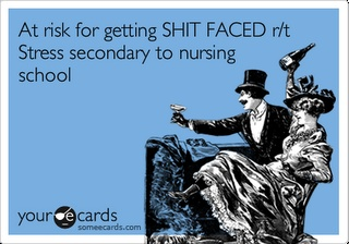 Haha, back in the nursing school days!