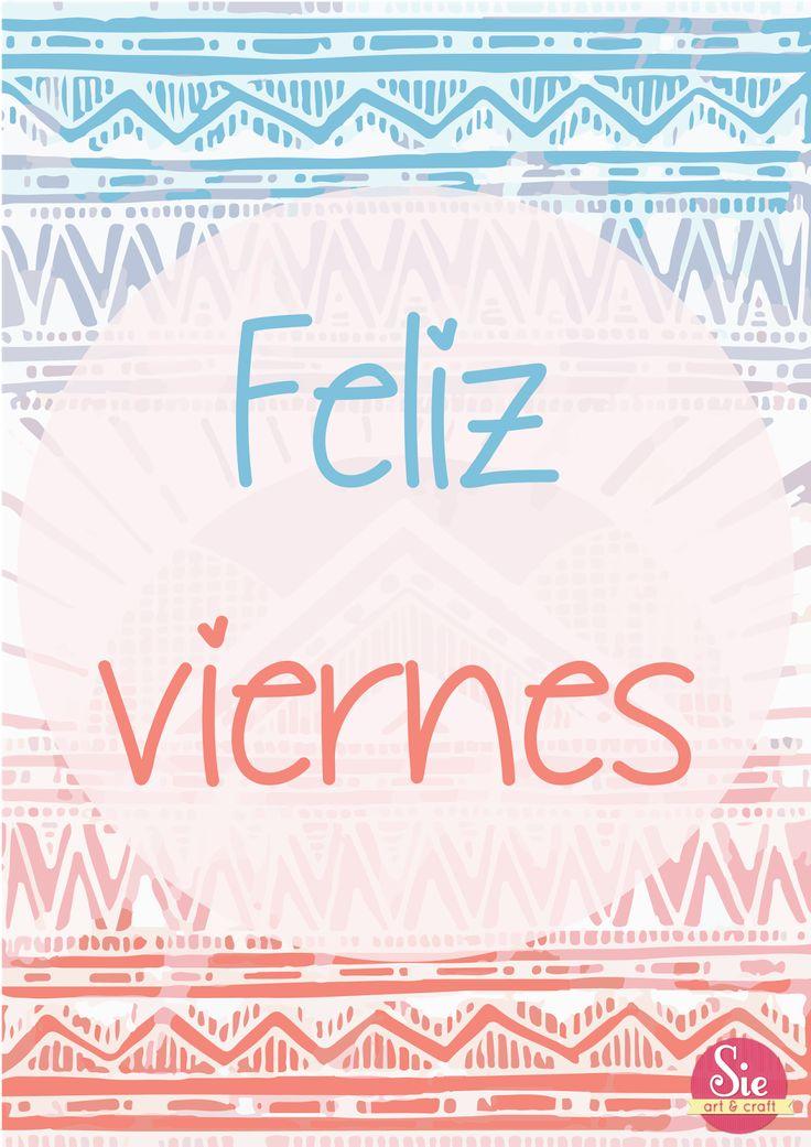 hola hola viernes ♥seguinos en www.facebook.com/sieartcraft