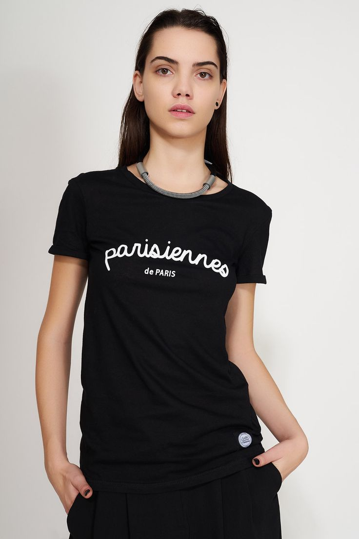SIXTH JUNE - PARISIENNE DE PARIS T SHIRT #ozonboutique #fashion #women #tshirt #love #paris #parisiennes #ozonstyle