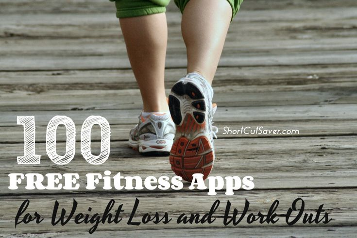 100 Free Fitness Apps for Weight Loss and Work Outs - Short Cut Saver