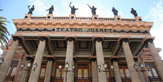 Teatro Juárez, ciudad de Guanajuato / Ernesto Polo