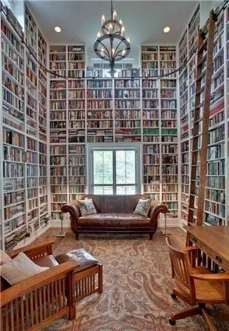 #eyecandy: floor-to-ceiling book storage