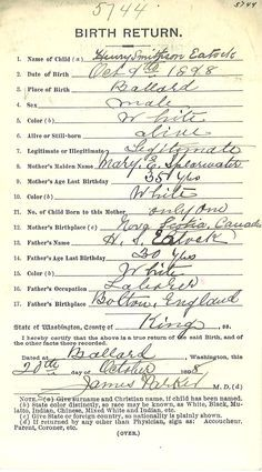Some ideas to help avoid any slip-ups in your family history research.