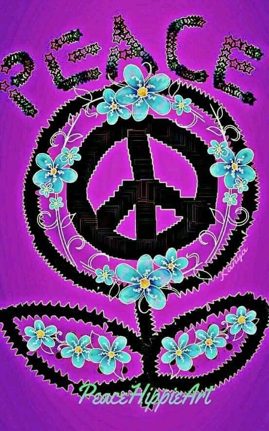 Peace Hippie Art ☮️