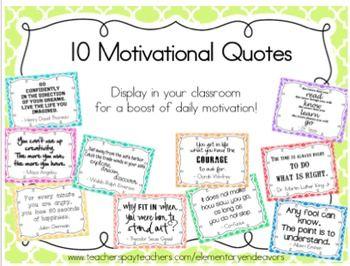inspirational quotes classroom