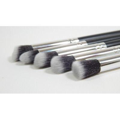 Kit 5 Pincéis Sintéticos De Maquiagem P/ Face Similar Sigma - R$ 45,00
