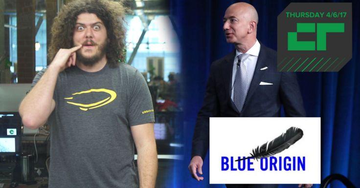 Crunch Report | Jeff Bezos Sells $1B in Amazon Stock Annually to Fund Blue Origin  |  TechCrunch