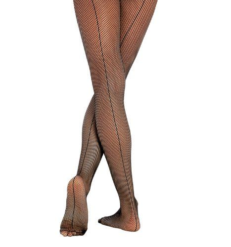 Body Wrappers A62 Women's Seamed Fishnet Tights (Large/X-Large, Black):   Seamless fishnet tights have an ultra soft finish. Material: Nylon/Lycra Spandex./b
